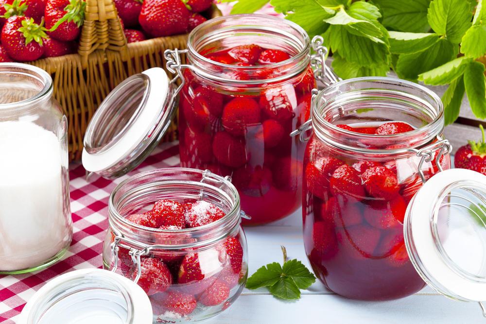 Варенье из клубники на зиму — густое с целыми ягодами